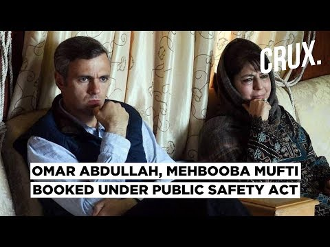 Former J&K CMs Omar Abdullah and Mehbooba Mufti Booked under Public Safety Act