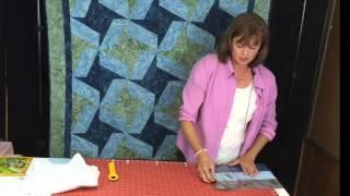 Quilt for Beginners Using X-Blocks Ruler - Super Fast, Super Easy!