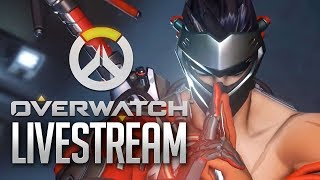 Overwatch Live Stream. Lets get to Diamond!