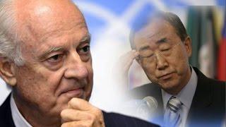 تقاسم للسلطة بشكل متوازن وتأجيل رحيل الأسد..إليكم ما قاله دي ميستورا وبان كي مون بمجلس الأمن-تفاصيل