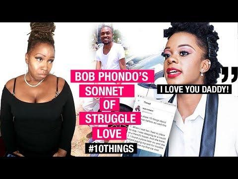 Part 1: Bob Phondo's Sonnet of #StruggleLove #10Things @TonyaTko Reacts