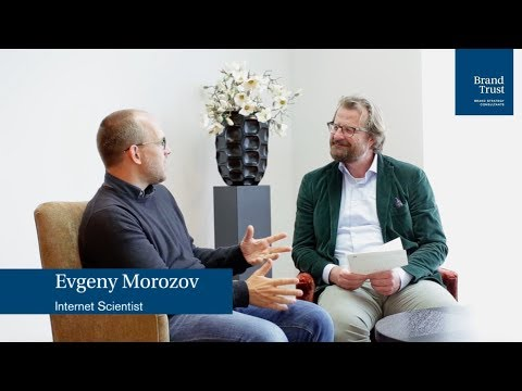Evgeny Morozov about his advice for a good life during the Digital Transformation