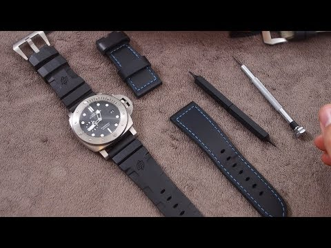 How to Change the Strap & Buckle of your Panerai Watch