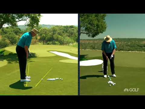 Wedge Week: Dave Pelz tips for high, soft wedge shots | Golf Channel