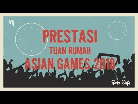 Buka Data - Prestasi Tuan Rumah Asian Games 2018