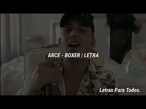 ARCE - BOXER | LETRA - YouTube