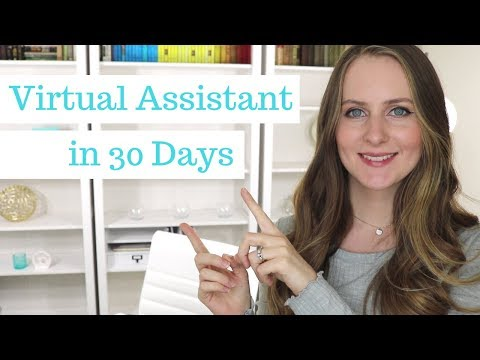 How to Become a Virtual Assistant in 30 Days