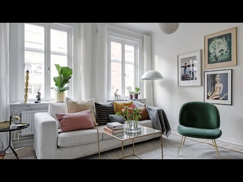 Scandinavian Apartment Tour, Chic Home in Stockholm 🍍