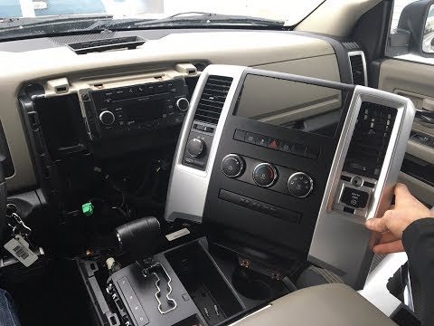 How To Remove The Dash Bezel On A Dodge Ram 1500