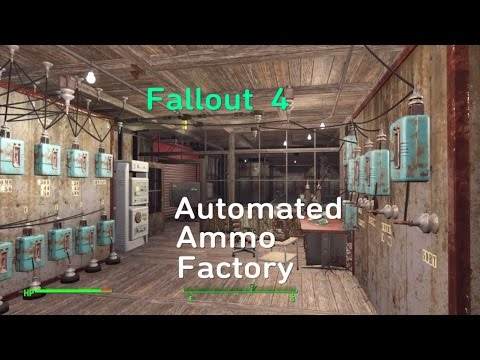 Fallout  4  Automated  Ammo Factory