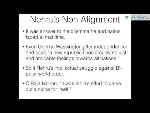 Unacademy UPSC: India's Foreign Policy - Non Alignment of Nehru