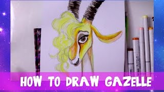 How to Draw GAZELLE from Disney