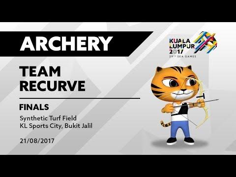 KL2017 29th SEA Games    Archery - TEAM RECURVE FINALS   21/08/2017