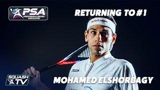 Squash: Mohamed ElShorbagy on Returning to World #1