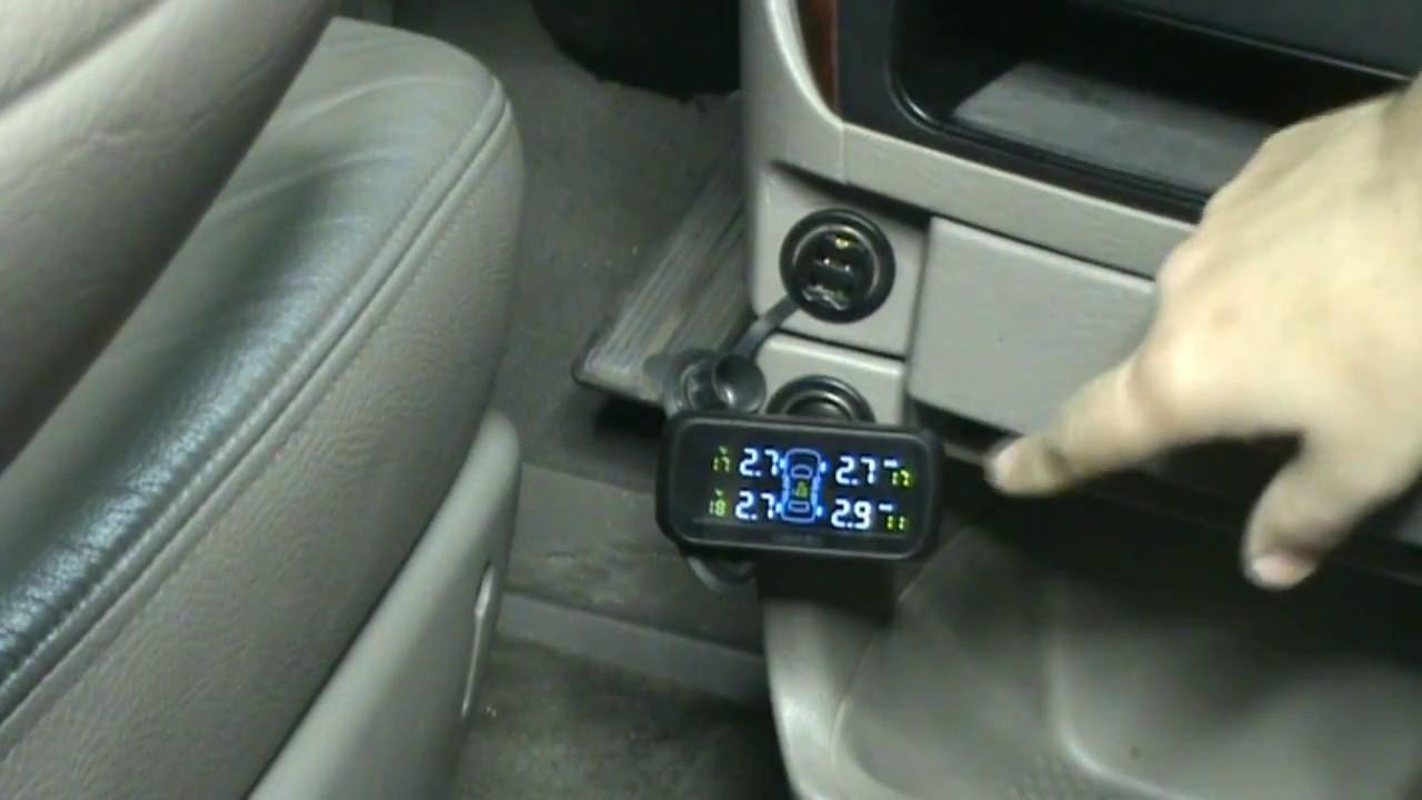 Sistema de control de presi/ón de neum/áticos TPMS Sensor