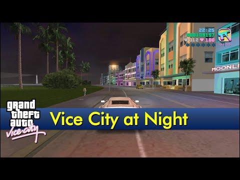 Vice City At Night [The GTA:Vice City Tourist]