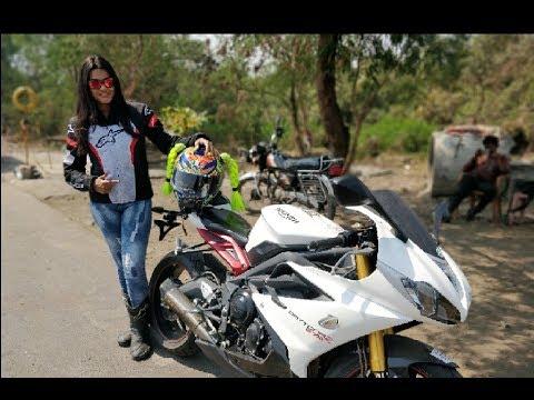 Riding A Superbike || Triumph Daytona r || SJCOE