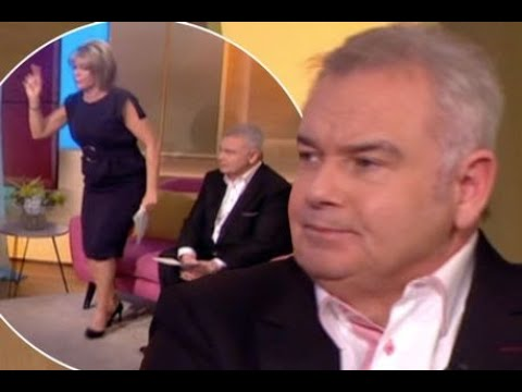 Ruth Langsford forced to leave the This Morning studio - just hours after Eamonn Holmes walked off
