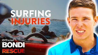 Top 5 Worst Surfing Accidents and Injuries on Bondi Rescue