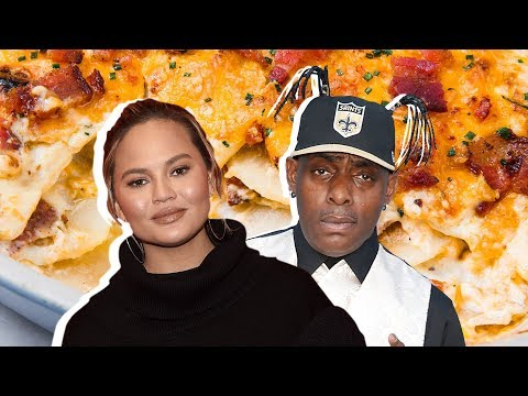 Chrissy Teigen Vs Coolio: Whose Scalloped Potatoes Are Better?