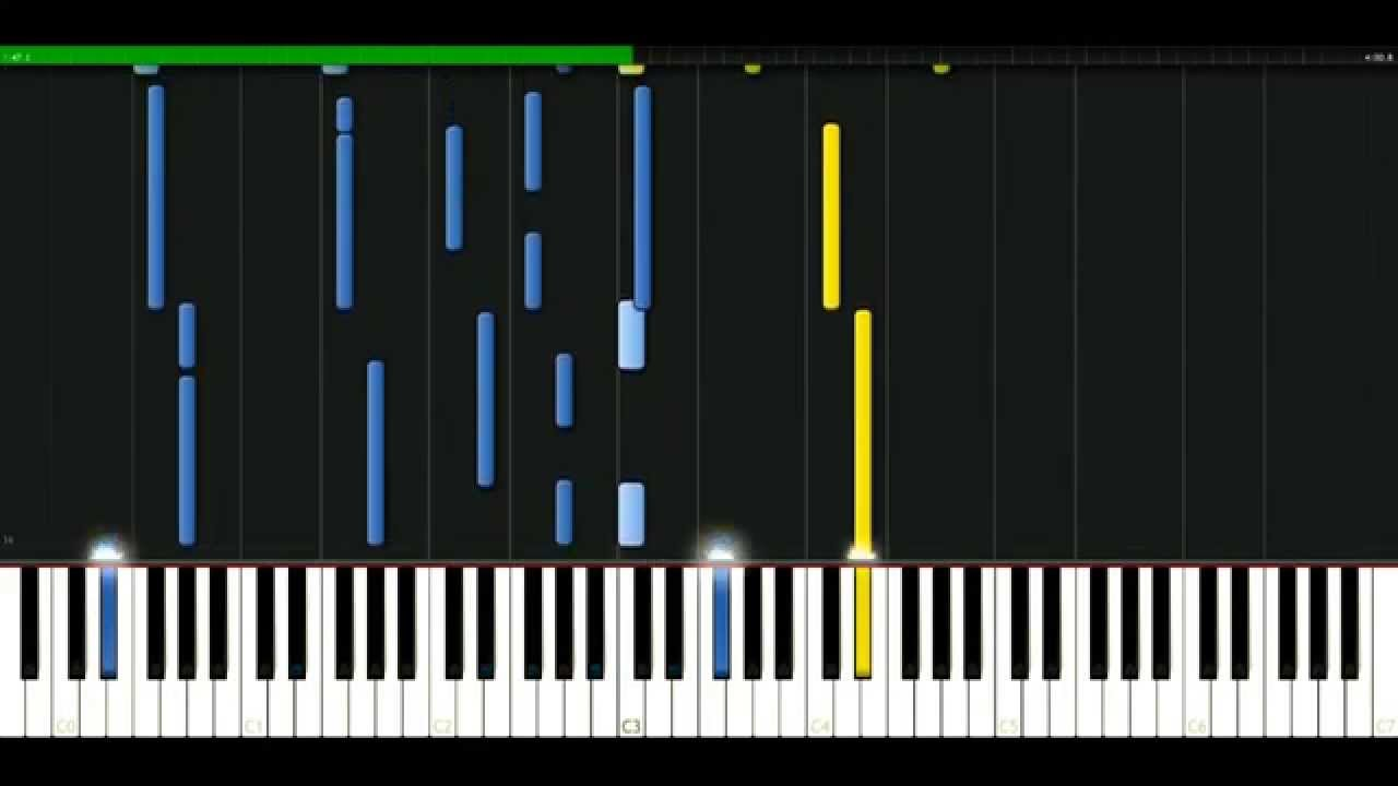 Melanie C   First day of my life [Piano Tutorial] Synthesia   passkeypiano