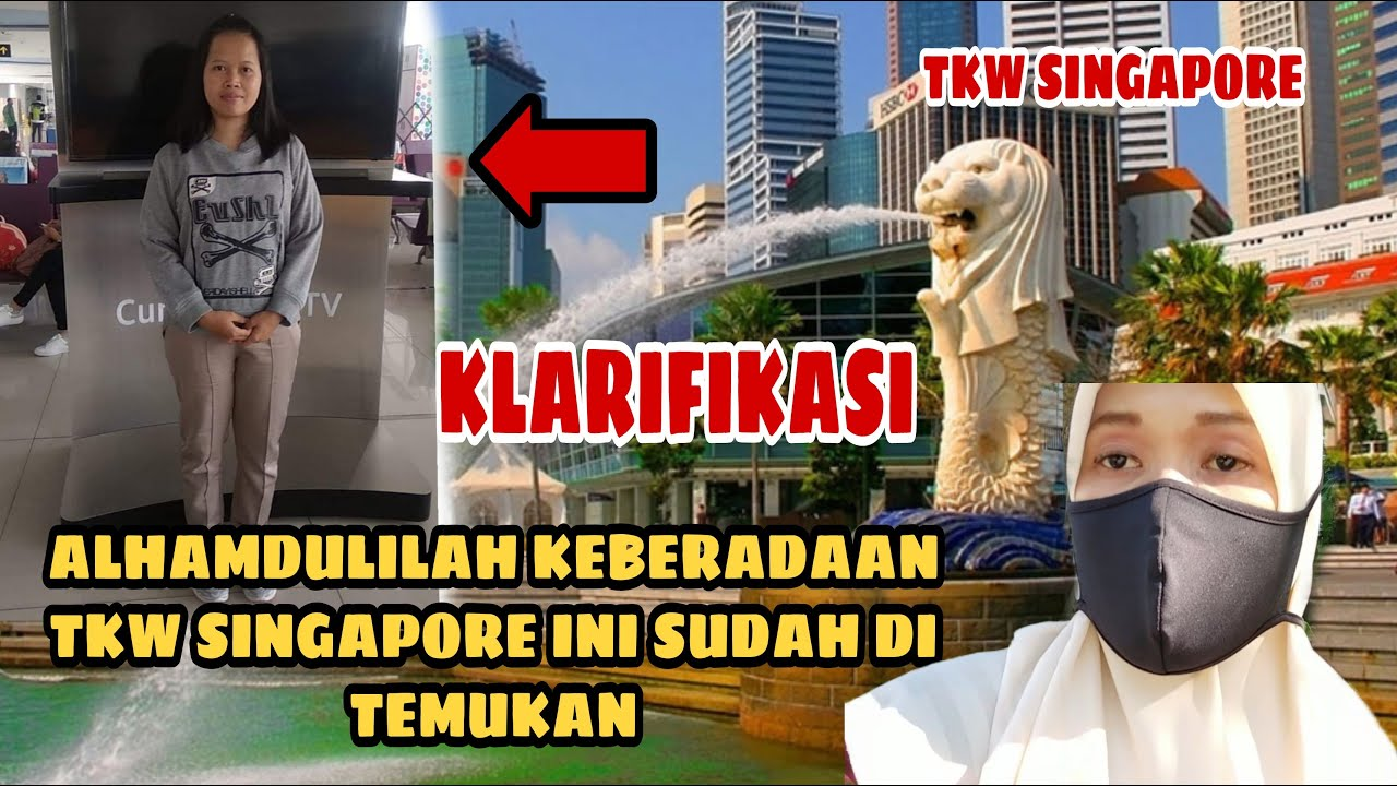 ALHAMDULILAH TKW SINGAPORE ASAL BANYUMAS PURWOKERTO SUDAH DI TEMUKAN ❗@Asih Ngawi