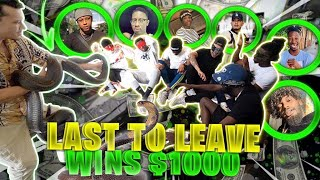 FEAR FACTOR : Last To Leave Snake Pit Wins $1000