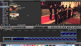 Saving your Final Cut Pro X project on your external hard drive