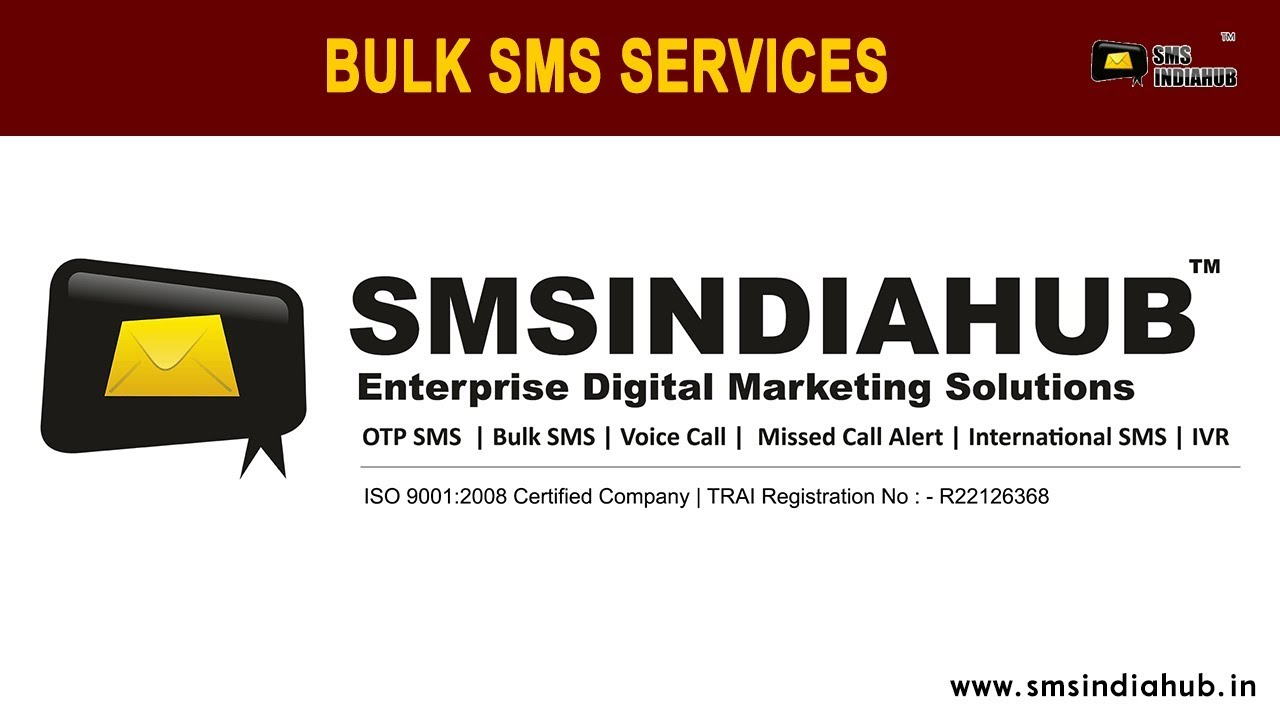 Bulk SMS Service Provider in India | Bulk SMS Gateway API for 2019