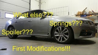 The first modifications for my New Generation SAAB 9-5!! - Happy 2018