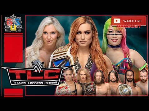 Wwe Tlc 2018 Live Stream Full Show Tables Ladders Chairs 2018