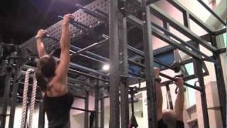 Bodyweight strength equipment at Functional Training Summit