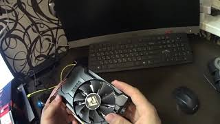 Распаковка PowerColor Radeon RX 560 2GB
