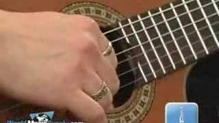 Washburn Classical Guitar C104SCE Demo