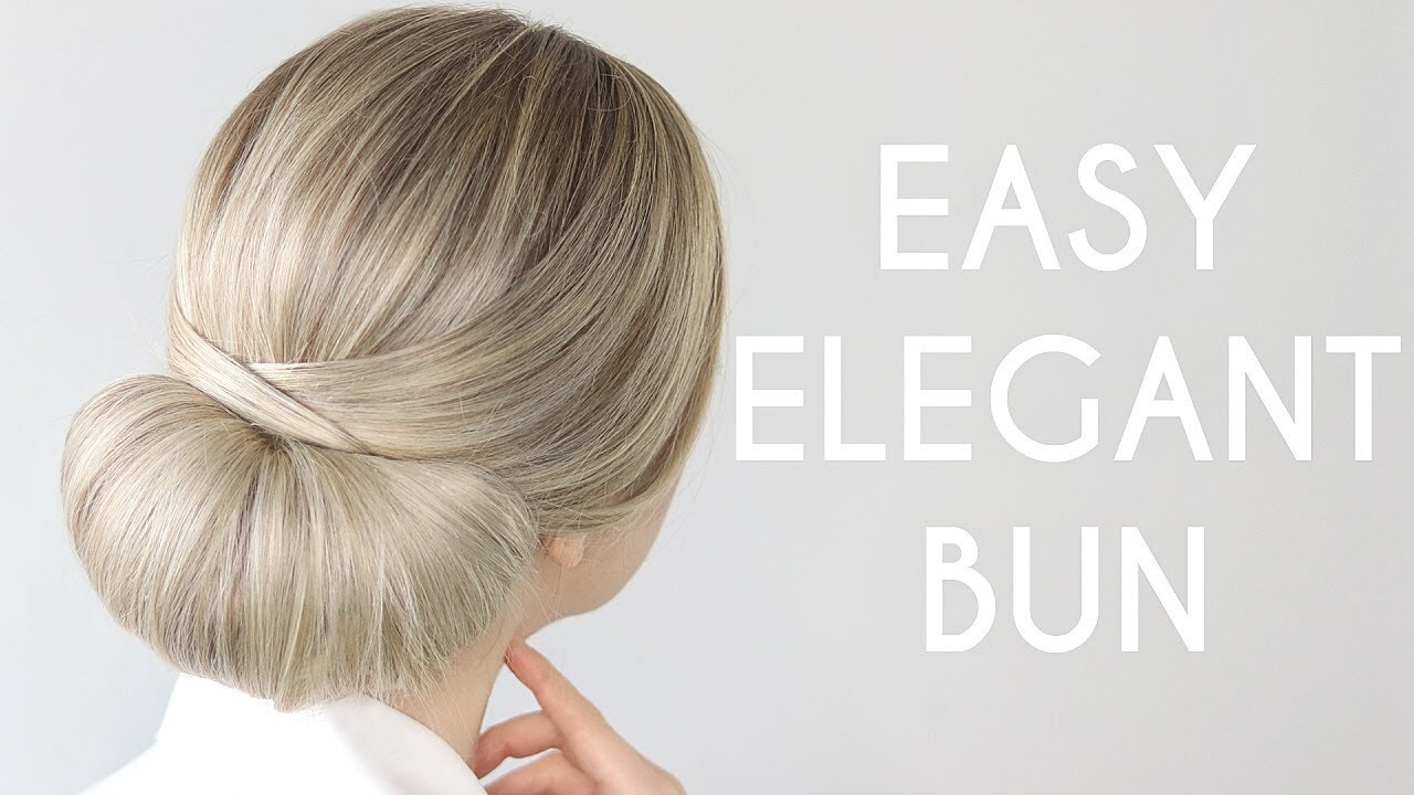 HOW TO: EASY UPDO | Perfect For Bridal, Prom, Work - YouTube