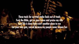 Dead Prez - Assassination (Lyrics Video)