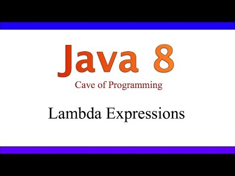 Lambda Expressions in Java - What's New in Java 8 Part 1