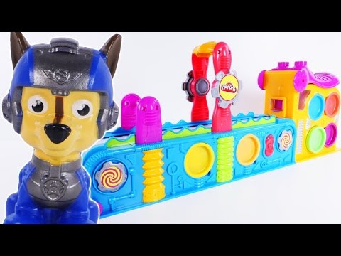 Thumbnail: Learning Colors for Children Paw Patrol Mega Fun Factory Play Doh Videos for Children Toddlers Kids