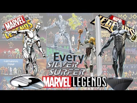 Every Marvel Legends Silver Surfer Toybiz And Hasbro Comparison Fantastic Four