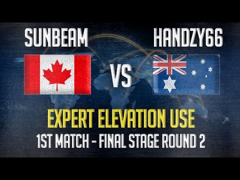 Match 1 - Expert Elevation Use :Handzy(AUS) vs Sunbeam(CAN) : Final Stages Round 2