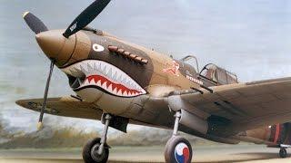 Стендовый моделизм. Мои модели. Самолет P-40B. Масштаб 1:72