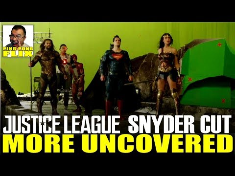 JUSTICE LEAGUE SNYDER CUT – MORE UNCOVERED!