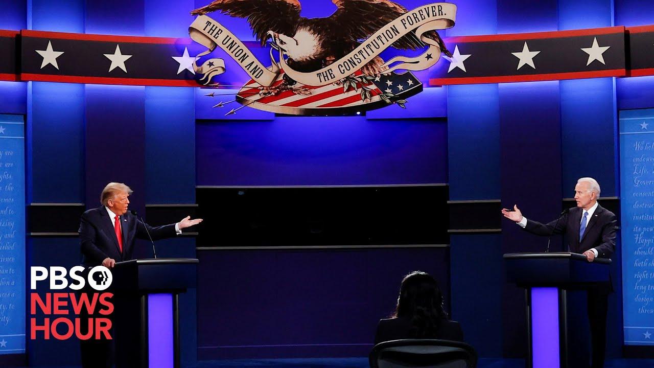 WATCH: Biggest moments of the final Trump-Biden debate in under 12 minutes
