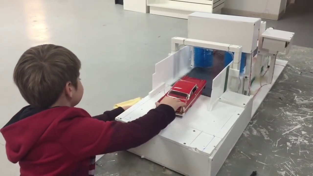 Scale Automatic Toy Carwash For Kids Youtube