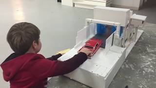 Scale Automatic TOY CARWASH for kids