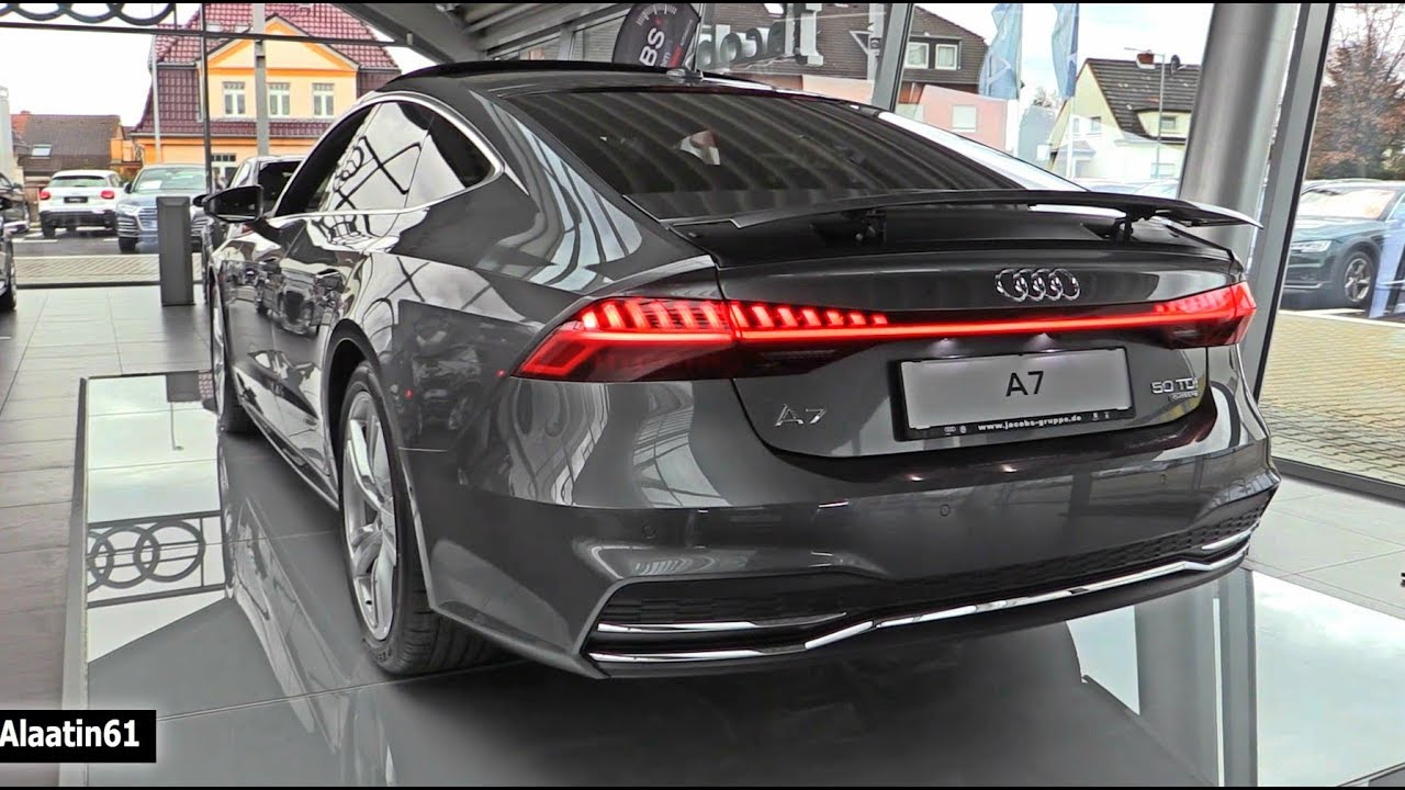 audi a7 s line 2018 new full review interior exterior infotainment youtube. Black Bedroom Furniture Sets. Home Design Ideas