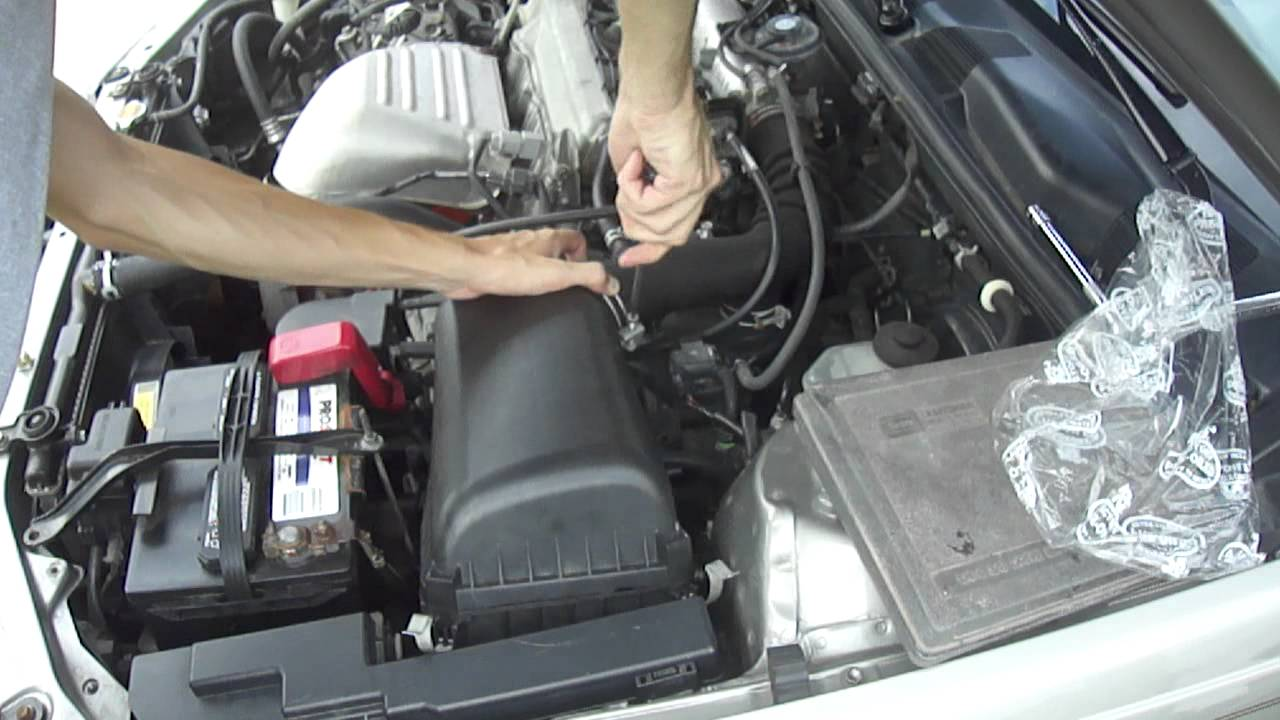 installing a k u0026n performance high flow panel air filter u002799 toyotainstalling a k u0026n performance high flow panel air filter u002799 toyota  [ 1280 x 720 Pixel ]