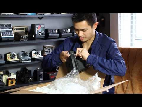 Unboxing Instant Kodak Cameras