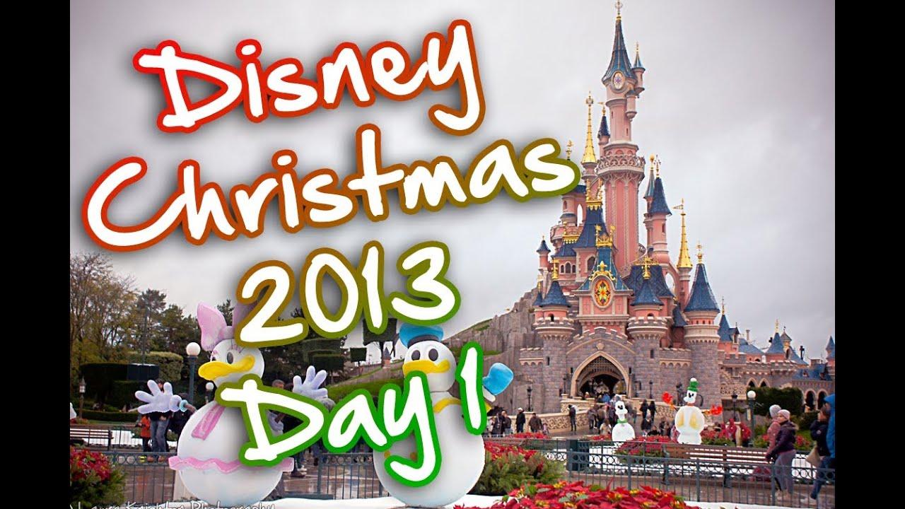 disneyland paris solo christmas trip 2013 day 1 thatdisneylandlover