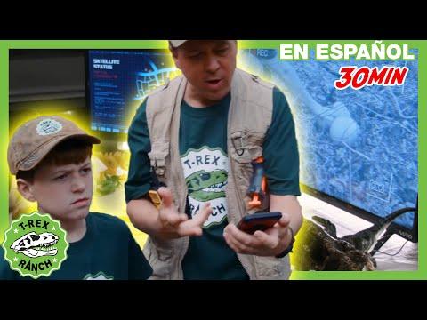 parque-de-t-rex-|-¡el-suelo-es-lava!-huida-de-dinosaurios-en-el-parque-gulliver-para-niños